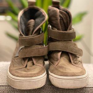 DKNY platform sneakers